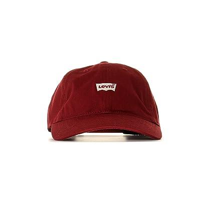 Levi s Men s Mini Batwing Dad Hat (Self Closure) Flat Cap  Amazon.co.uk   Clothing ffae27063cb