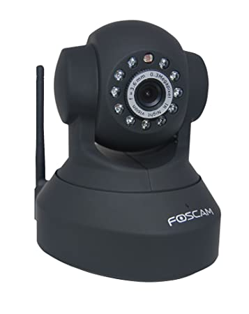 Foscam FI8918W Wireless/Wired Pan & Tilt IP/Network Camera with 8 Meter  Night Vision and 3 6mm Lens (67° Viewing Angle)
