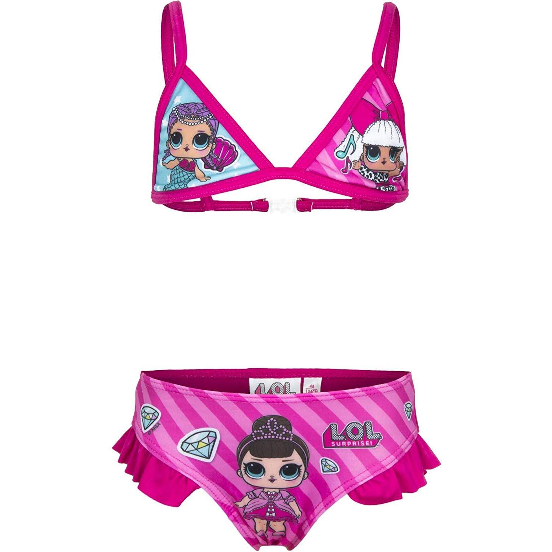 Text Ragazze Nuoto Bikini LOL Bambola Sorpresa Estate Due Pezzi