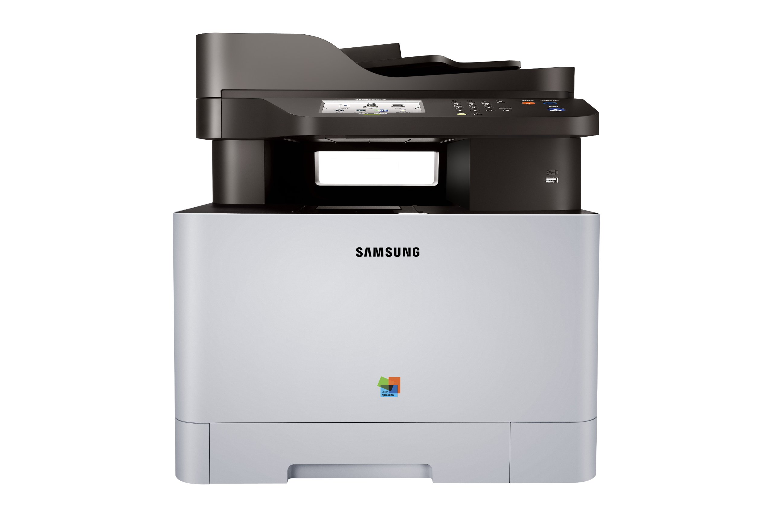 Samsung SL-C1860FW/XAA Wireless Color Printer with Scanner, Copier and Fax, Amazon Dash Replenishment Enabled by HP