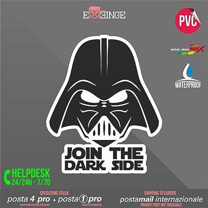 Adesivi in vinile Wall Stickers Prespaziati Darth Vader Star Wars 3 Notebook