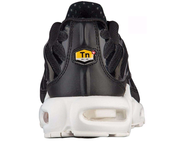 Nike Air Max Más Los Zapatos (tn) De Los Hombres En Blanco Y Negro De Imágenes Prediseñadas YFkP3ezV2