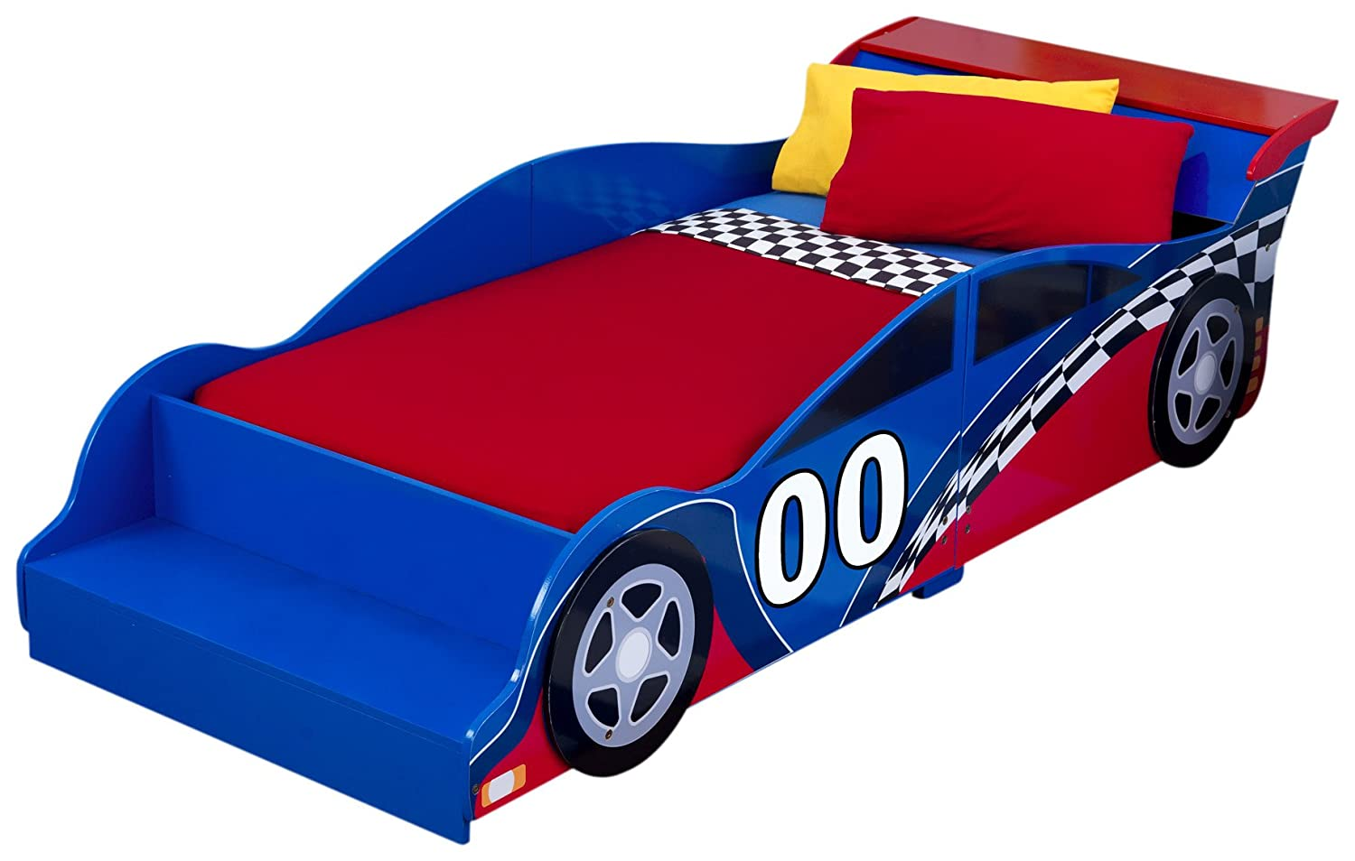 Amazon Com Race Car Toddler Bed Toys Games