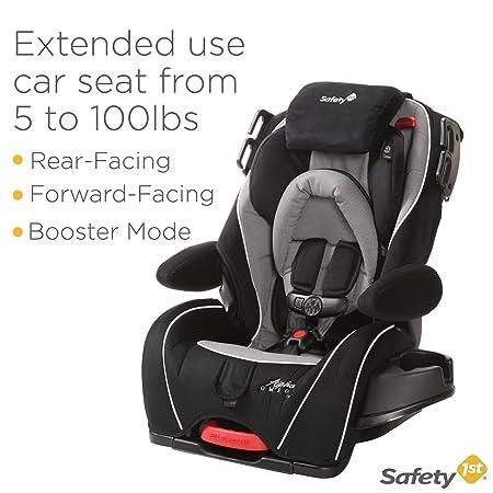 Safety 1st Alpha Omega Elite Convertible Car Seat Quartz