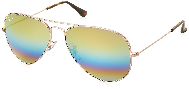 Ray-Ban RB3025 Aviator Large Metal Non-Polarized Sunglasses: Ray-Ban ...