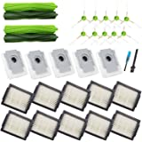 Amyehouse Replacement Parts Kit for iRobot Roomba i7 i7+ i6+ i3+ Plus Vacuum,2 Set Multi-Surface Rubber Brushes & 10…
