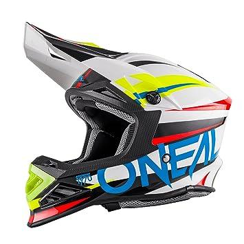 0623-48 Gr/ö/ße XS ONeal 3Series MX Helm Crank Neon Gelb Hi-Viz Motocross Enduro Quad Offroad Cross 53//54cm