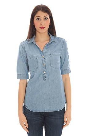 Gant 1401.432027 Polo con Las Mangas Cortas Mujer Azul 991 44 ...