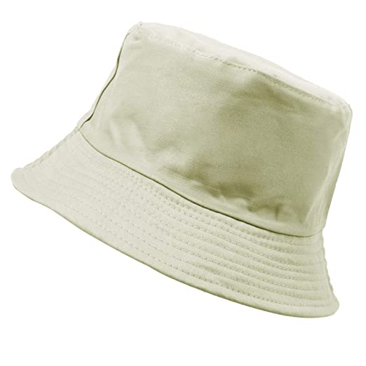 f5a21099147 Solid Color Panama Bucket Hats for Women Men Spring Summer Fisherman Cap  Sunscreen Simple Hat