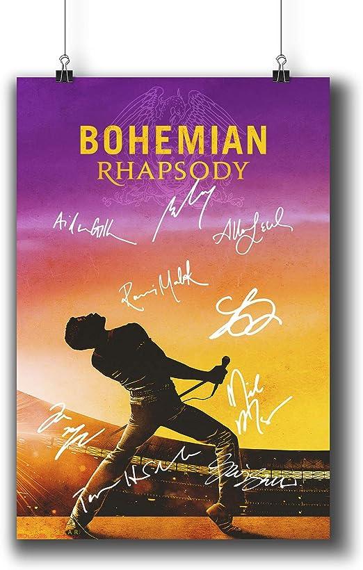 Bohemian Rhapsody Film Poster A4 Reprint
