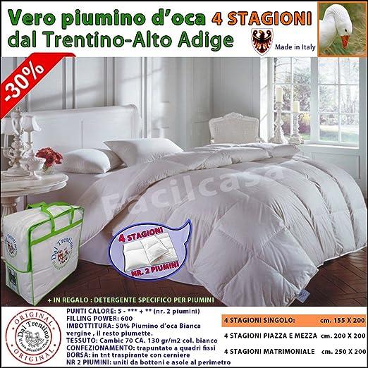 26765e8c26 Opinioni per VERO PIUMONE, PIUMINO, D' OCA, 4 STAGIONI,