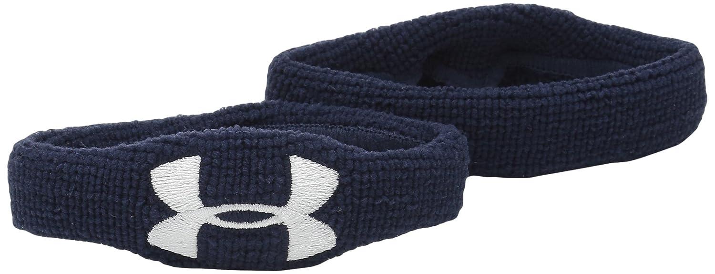 Under Armour Under Armour Wristband 1//2 2 bandeaux poignet et biceps Navy