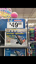Amazon Com Rio Beach Wonder Wheeler Wide Beach Cart