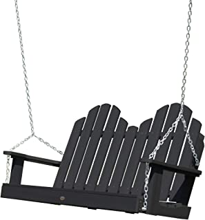 product image for highwood AD-SW1CW52-BKE Classic Westport Porch Swing, 4 Feet, Black