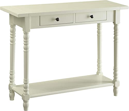 4D Concepts Simplicity Buttermilk Entry Table
