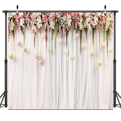 amazon com dudaacvt 8x8ft wedding photo backdrops white wedding