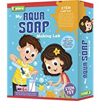 Explore.. | STEM Learner | My Aqua Soap Making Lab (Learning & Educational DIY Activity Toy Kit, for Ages 6+ of Boys and Girls)