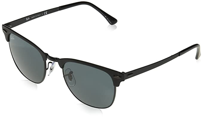 Ray-Ban 0rb3716 186/R5 51 Gafas de sol, Shiny Black Top Matte, Unisex