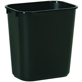 b864a929efeb Amazon.com  Rubbermaid Commercial Products FG295500BLA Plastic Resin ...