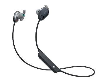 Sony WISP600NB.CE7 - Auriculares Deportivos inalámbricos (Modo Sonido Ambiente, cancelación de Ruido, Bluetooth y NFC), Color Negro: Amazon.es: Electrónica