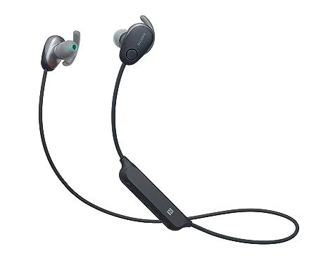 Sony WISP600NB.CE7 - Auriculares Deportivos inalámbricos (Modo Sonido Ambiente, cancelación de Ruido