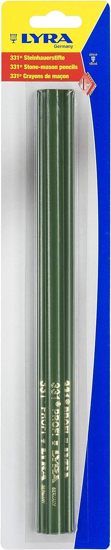 3 unidades Portaminas l/ápiz para piedra y hormig/ón mina endurecida 30 cm de longitud Lyra 4318004