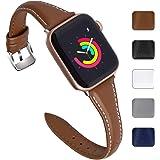 10bf17d60de5 Fullmosa Correa Reloj de Compatible con Apple Watch de Piel Sliim 38 mm    40 mm