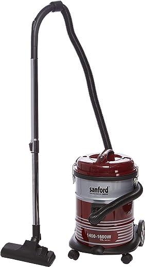 سانفورد مكنسة كهربائية , احمر/فضي، SF879VC BS