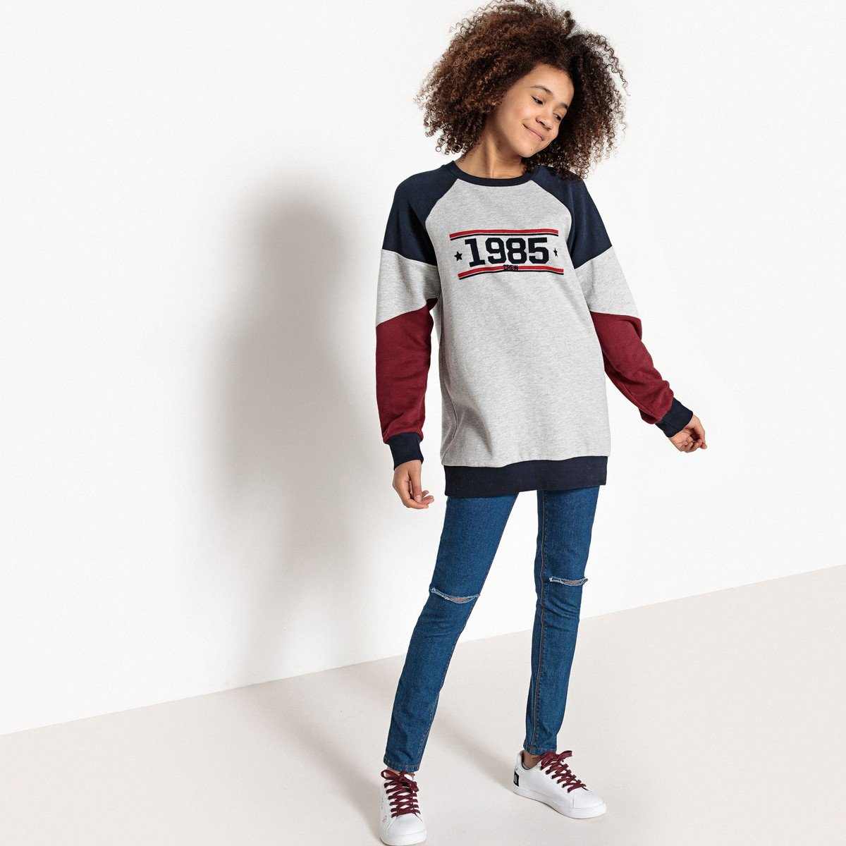 La Redoute Collections Big Girls Skinny Jeans 10-16 Years