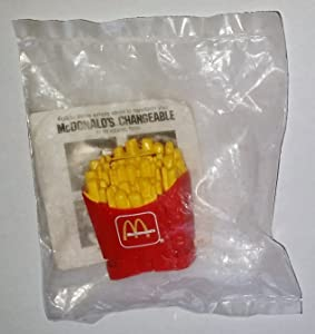 McDonalds 1987 Changeables - Large Fries Happy Meal Toy