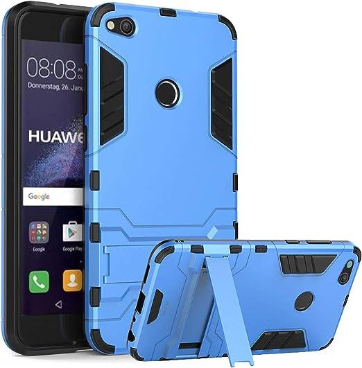 WLDDWL Funda Huawei P8 Lite 2017, Carcasa Ultra Fina Antigolpes ...
