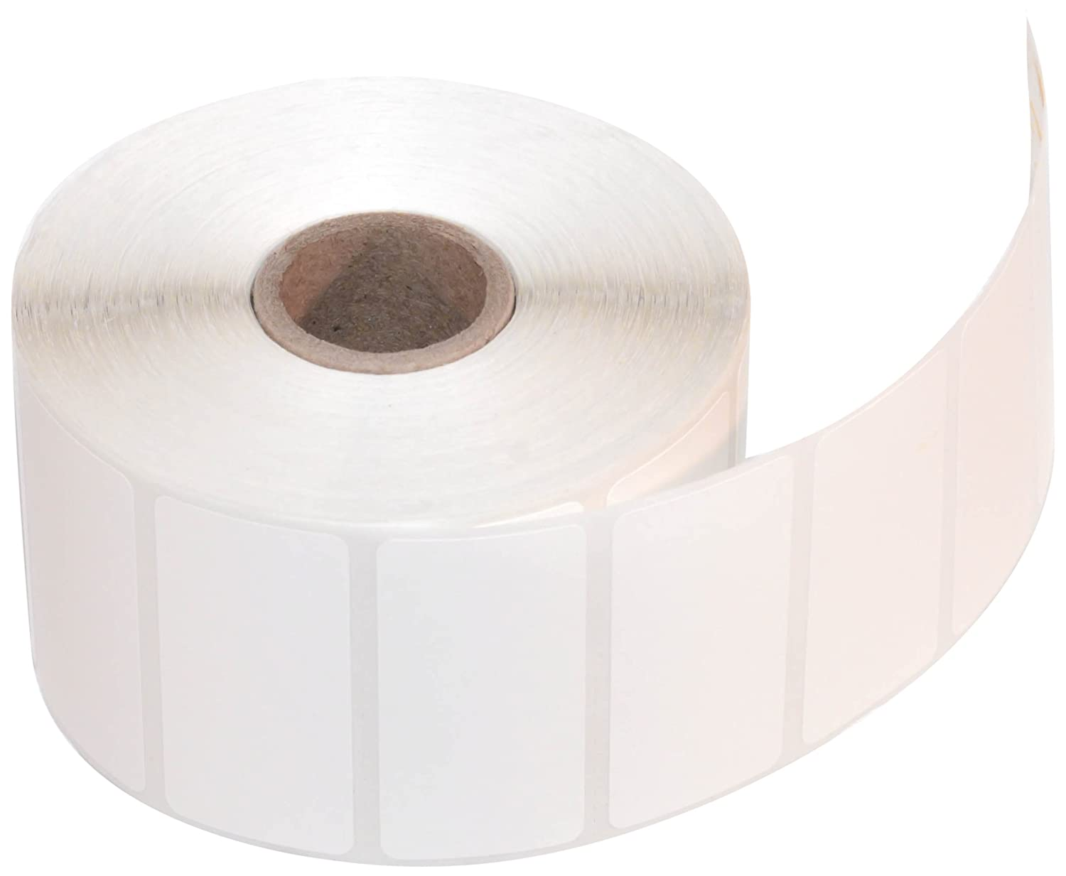 CompuLabel Direct Thermal Labels, 2-Inch x 1 Inch, White, Roll, Permanent Adhesive, Perforations Between Labels, 1300 per Roll, 12 Rolls per Carton (530550) Continental Datalabel Inc.