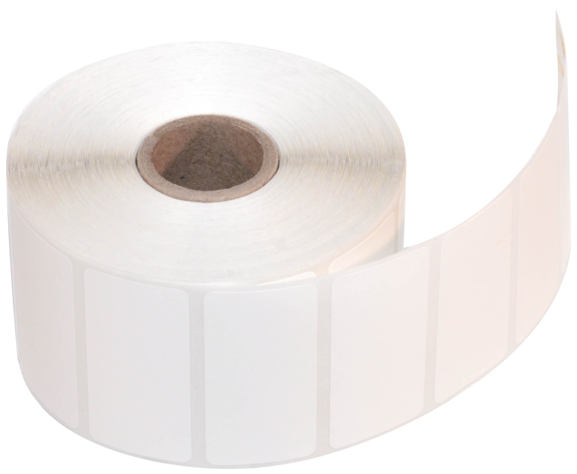 CompuLabel Direct Thermal Labels, 2-Inch x 1 Inch, White, Roll, Permanent Adhesive, Perforations Between Labels, 1300 per Roll, 12 Rolls per Carton (530550) by Compulabel (Image #1)