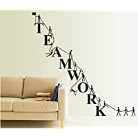 Happy Walls 'Team Work' Wall Decor Wall Stick for Office,Home or Work Place