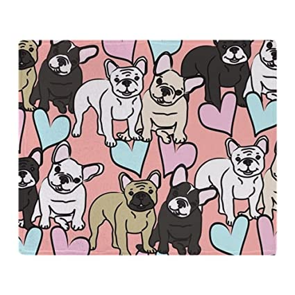 9d3ffb3cc089 Amazon.com: CafePress French Bulldogs Soft Fleece Throw Blanket, 50 ...
