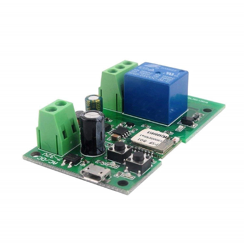 DIY 5V 12V Inching/Self-locking Wifi Switch Module (12)