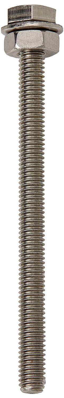 blister di 20 Ahc A2HEXSET335B20 M3 x 35 mm in acciaio inox a2 vite di fermo a esagono compresi dadi e rondelle