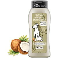Wahl Canada Dog Oatmeal Shampoo, Plant Derived Shampoo in Coconut, Lime, Verbena to Help Sooth Dry Itchy Skin, Paraben…