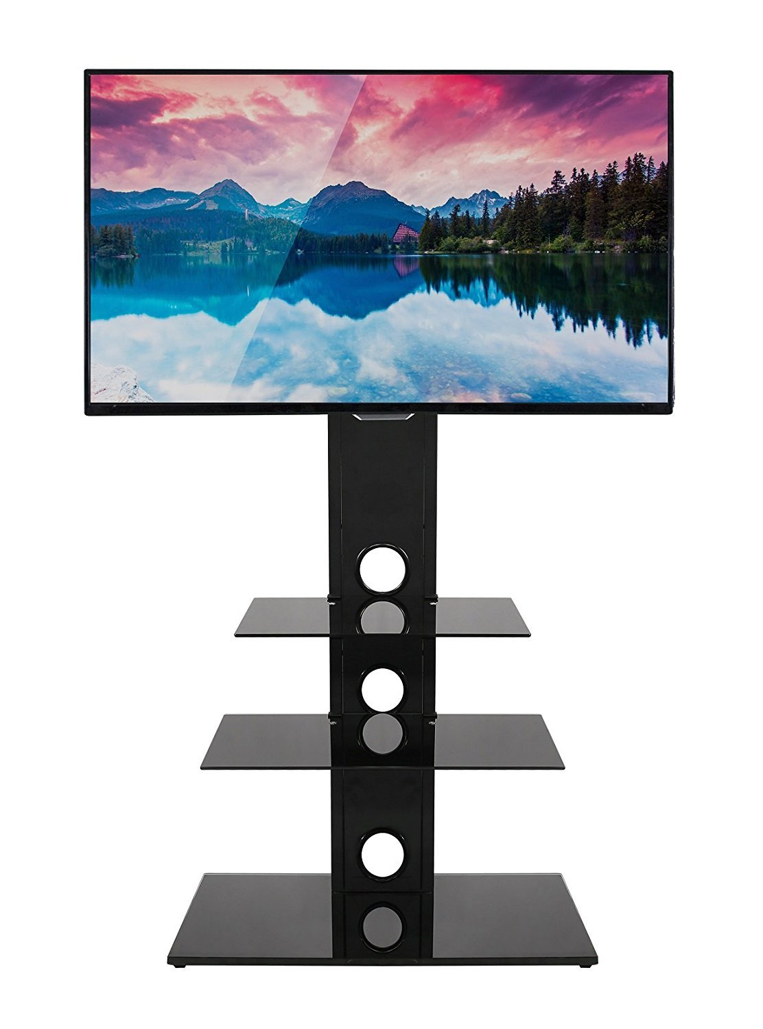 Mountright MK002 Cantilever TV Stand With Swivel Bracket For Screens 27 Up To 55 Inch TMK002B