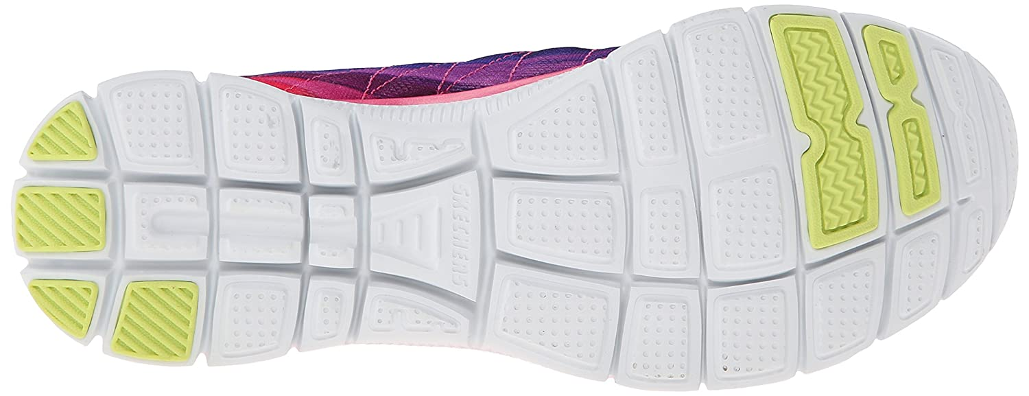 Skechers Flex Appeal Appeal Appeal Pretty Please, Damen Hallenschuhe, Rosa (fuchsia multi), 36.5 8dca45