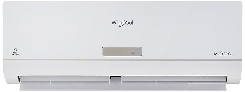 Whirlpool 1 Ton 3 Star (2018) Split AC (Aluminium, 1.0T Magicool DLX 5s, White)