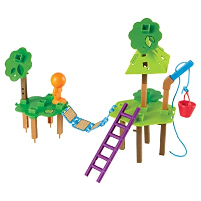 Learning Resources Tree House Engineering & Design Building Set, 52 Pieces: Toys & Games