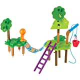 Learning Resources LER2844 Tree House Engineering & Design Building set