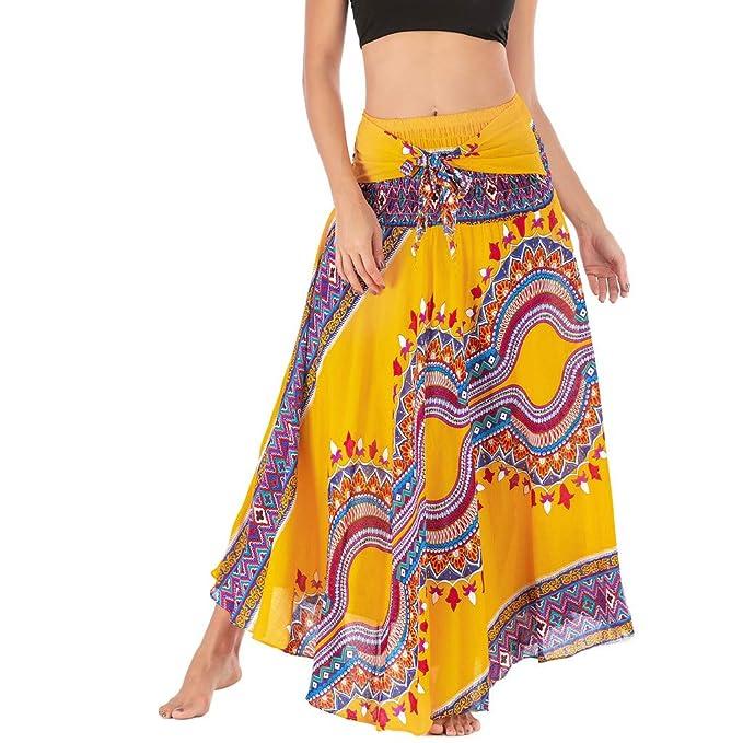 Poachers Falda Pantalon Mujer Talla Grande Vestidos de Fiesta ...