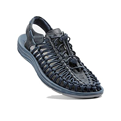 492a16c4f39e Keen Uneek Leather WMS Blue Size  10.5  Amazon.co.uk  Shoes   Bags