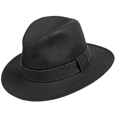 ddd0b1a8d8d9c Ultrafino Barrington Dark Straw Panama Hat with Black Stripped Band Black 7  1 8