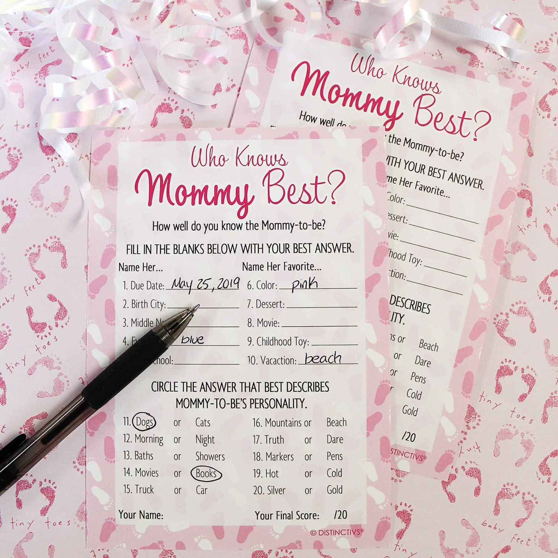 Amazon.com: DISTINCTIVS Who Knows Mommy Best - Juego de ...