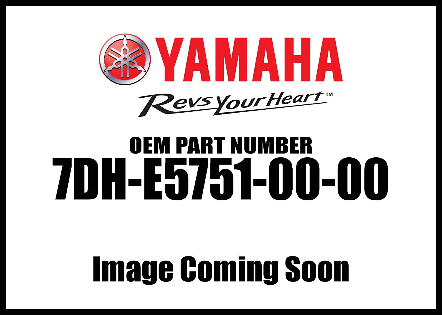 Yamaha Wire Starter 7Dh-E5751-00-00 New Oem