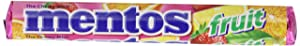 Mentos Chewy Candy, Mixed Fruit, 1.32oz 15 Count
