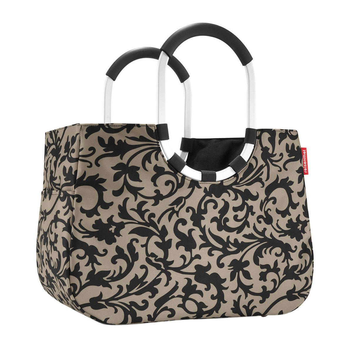 Loopshopper L – Color a elegir, poliéster, gris/barroco Reisenthel